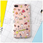 Cute My Neighbor Totoro Soft TPU Phone Case Clear Back Cover For iPhone 7 7 Plus