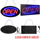 Ultra Bright LED Neon Light Animated Motion w/ ON/OFF OPEN Business Sign 2 Shape