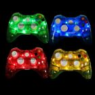 Glow Light USB Wired/Wireless Remote Controller Gamepad For Xbox 360 Console &PC