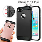 APPLE IPHONE 7 / PLUS CASE COVER, HEAVYDUTY SLIM ARMOR + GLASS SCREEN PROTECTOR