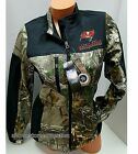 NWT~WOMENS NFL TAMPA BAY BUCCANEERS REALTREE CAMO BLACK FLEECE SOFTSHELL JACKET