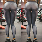 Womens Sports YOGA Workout Gym Fitness Leggings Pants Crop Top Athletic Clothes