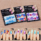 Flower Design Water Transfer Women Manicure Art Sticker Decal Decoration Tool