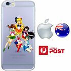 Case Cover Silicone Sailor Moon Crystal Scouts Princess Serena Cute FreshPrint