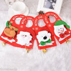 1PC Bell Door Wall Hanging Pendant Drop Ornaments Christmas Decor 23x11.5cm