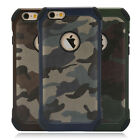 ShockProof Hybrid Camouflage Heavy Duty Dual Layer Tough Case For iPhone 7 7plus