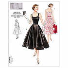 Vintage Vogue 2902 50s 60s Full Skirt Dress NEW Retro Sewing Pattern V2902