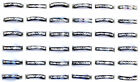 100pcs Wholesale Jewelry Lots Bulk Mixed Coloured Style Aluminum Band Rings New