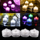 4X Submersible LED Vase Floral Tea Light Home Party Wedding Decoration