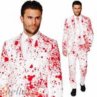 Mens Bloody Harry Opposuit Halloween Costume Fancy Dress Jacket Trousers Tie