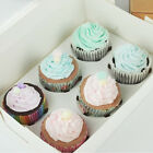 Cupcake Box Container Kraft Paper Muffin Case Holder Party Favor Gift Packing
