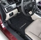 Honda Civic 2 Door 2006-2011 Carpet Floor Mats 3PC W/Logo on Fronts Pick Color