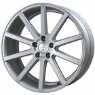 """JUDD T202 MATT SILVER BRUSHED alloy wheels 20"""" FREE DELIVERY  VW T5 T6"""