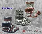 Coolers Mens Bootie Slippers   / Boot Style Slippers