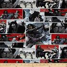 WALKING DEAD ZOMBIE GOTH PATCH QUILT SEWING FABRIC Free Oz Post