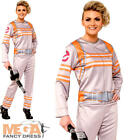Ghostbusters Jumpsuit Ladies Halloween Fancy Dress Womens Adults Costume Outfit