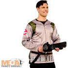 Ghostbusters Shirt + Proton Pack Mens Halloween Fancy Dress Adults Costume New