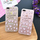 Cute Pattern Soft Bumper Hard Phone Case Back Cover For iPhone 5/5S 6/6S 7 Plus