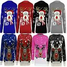 Kids Jumper Christmas Xmas Girls Sweater Boys Childrens New Winter Knitted Top