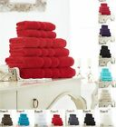 Zero Twist Hand Towel Pack of 4 Soft and Luxury in Colors