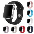 Silicone Fitness Replacement Band Wrist Strap For Apple  Watch 38mm 42mm