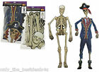 5ft Halloween Comedy PIRATE OR CREEPY SKELETON 3D Wall Window Hanging Decoration