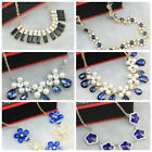Glamorous Austrian Crystal Necklace for Party, Formal, Wedding - Wholesale Price