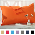 Pillow Case Cases Cover Housewife Standard Egyptian Cotton 2 Pairs Plain Bedroom