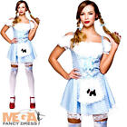Ladies Fairytale Sexy Dorothy Adults Storybook Fancy Dress Wizard of Oz Costume