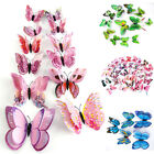 12pcs 3D Butterfly Design Decal Art Wall Stickers Room Decorations Home Decor XJ, used for sale  Shipping to Nigeria