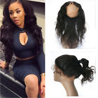 Brazilian Virgin Hair 360 Lace Frontal Band Body Wave with Baby Hair 360 Frontal