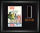 BOND 007  Dr. No    Sean Connery - Ursula Andress   FRAMED MOVIE FILMCELLS