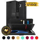 GOOSPERY® Mansoor Card Diary Flip Wallet Case Cover for Samsung Galaxy S7 Edge