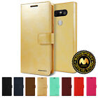 For LG G5 GOOSPERY® BlueMoon Card Pocket Diary Flip Cover PU Leather Wallet Case