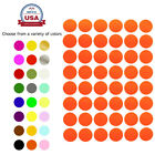 ~3/4 Inch Diameter 17mm Color Round Dot Stickers Small Sheets Labels 336 Pack