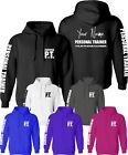 Personalised Certified Personal Trainer Hoodie PT Training Fitness Clothing Top