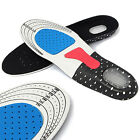 Men Gel Orthotic Sport Running Insoles Insert Shoe Pad Arch Support Cushion KY