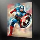 CAPTAIN AMERICA ABSTRACT CANVAS PRINT PICTURE DESIGN VARIETY OF SIZES AVAILABLE