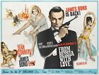 FROM RUSSIA WITH LOVE JAMES BOND Movie Poster [Various Sizes] $13.26 CAD