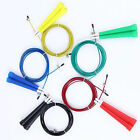 Speed Wire Skipping Adjustable Jumping Rope Fitness Exercise Gym Cardio Crossfit