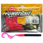 """POWERBAIT POWERWORMS JELLY WORM SOFT BAITS 7"""" - ALL COLOURS"""