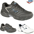MENS REAL LEATHER CASUAL WALKING RUNNING GYM TRAINERS DRIVING SHOES SIZES 6-14