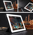 Premium Magnetic Folding Folio Leather Smart Cover Case for iPad 4 3 2 Black