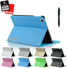 Magnetic Slim Leather Folio Stand Smart Case Cover for iPad Mini / Mini 2 Blue