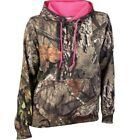 WOMENS MOSSY OAK REALTREE BREAK-UP COUNTRY CAMO PULLOVER FLEECE HOODIE SMALL NWT
