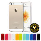 GOOSPERY® Clear Jelly Slim TPU Bumper Case Thin Cover for Apple iPhone 5 5S SE