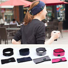 Bluetooth Stereo Headphone Headset Wireless Sports Sleep Headband With Mic New