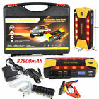 4USB 82800mAh Car Jump Starter Portable Booster Charger Power Bank  LED Light US