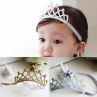 Toddler Baby Girl Lace Hair Accessory Princess Crown Headband Elastic Hairband