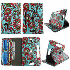 For Ellipsis 8 inch Verizon PU Leather Slim Folio Stand ID Slots Cover